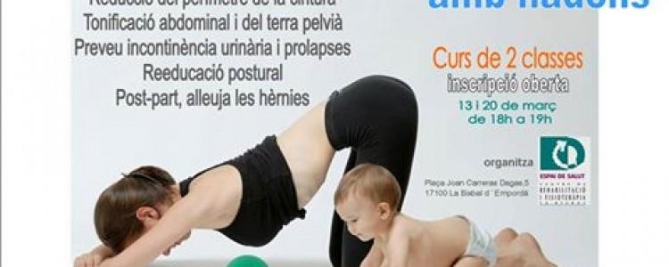 Curs Intensiu de Gimnàstica Hipopressiva amb nadons.